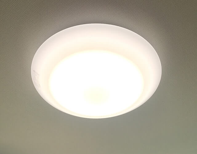 全室LED照明付