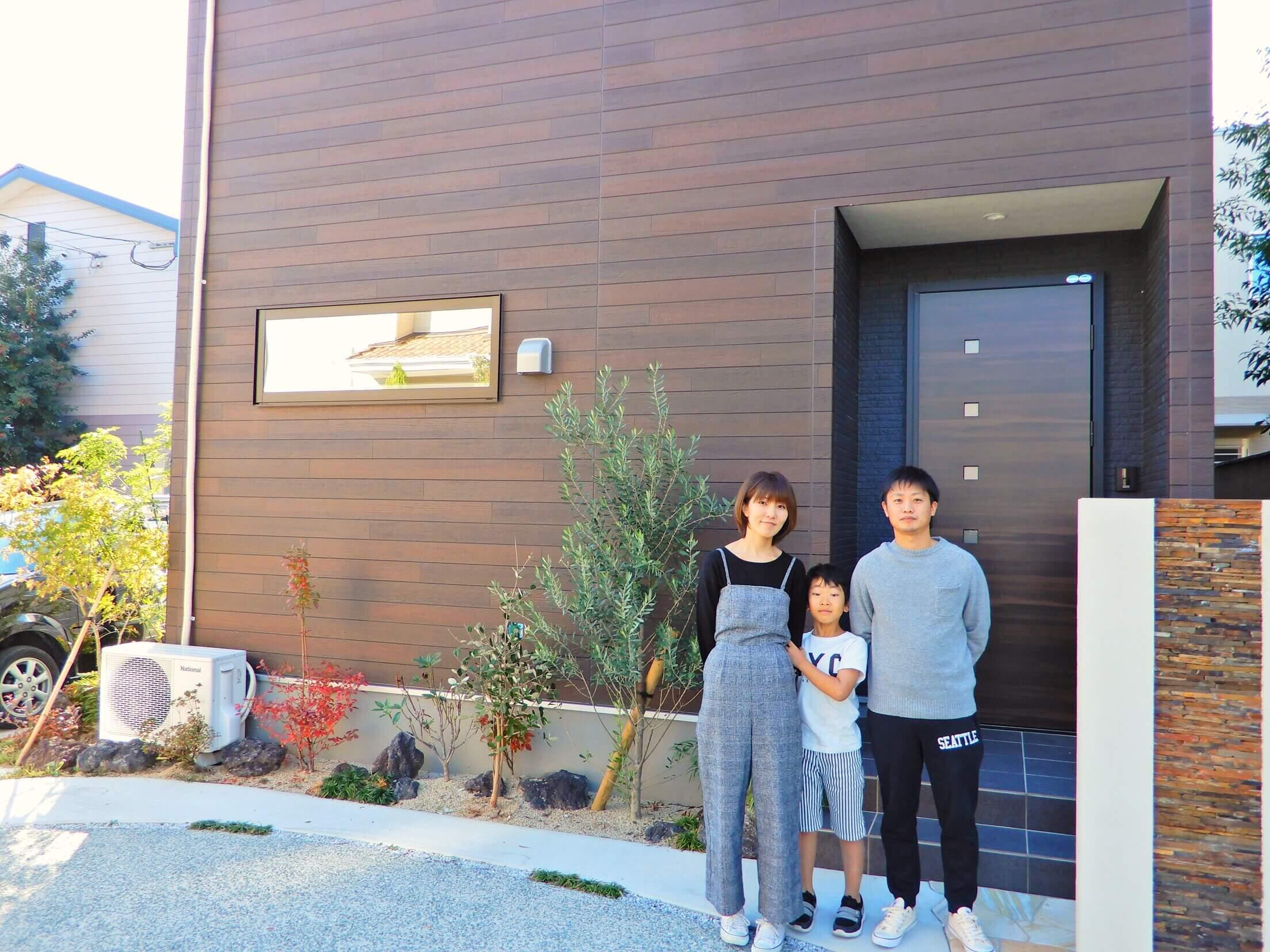 家族3人で住む、4LDK30坪、夢のマイホーム