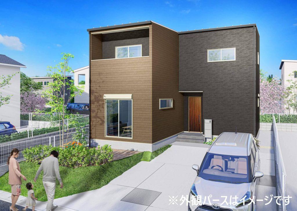 新築一戸建て住宅販売開始!クルミエタウン福岡市東区雁の巣(限定1棟)