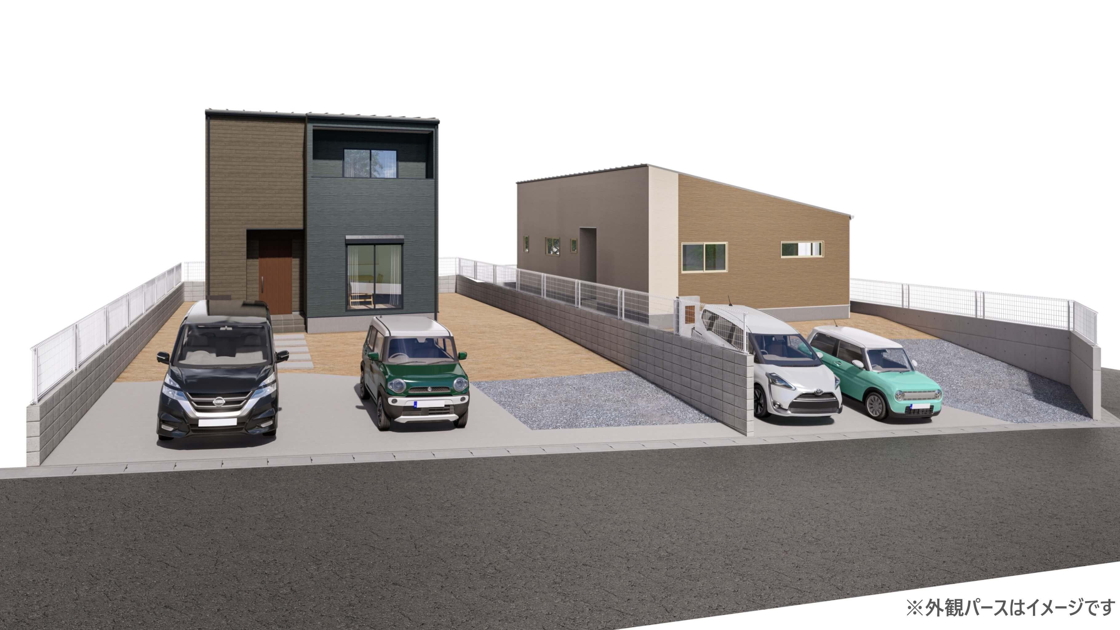 暮らしやすさを考えた4LDK・平屋の新築一戸建て誕生! 並列駐車3台可能です♪ ☆完成前成約特典あり☆